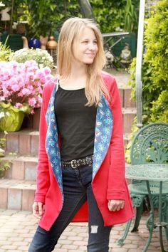 CHILL.jacke für Teenies, Lena.pepunkt Chill, Vest, Jackets, Fashion, Tutorials, Down Jackets, Moda, Fashion Styles, Fashion Illustrations