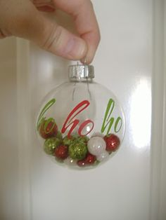 These are adorable!! Handmade Christmas Ornaments