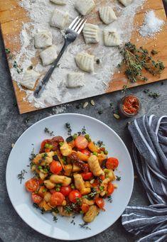 Homemade Vegan Gnocchi