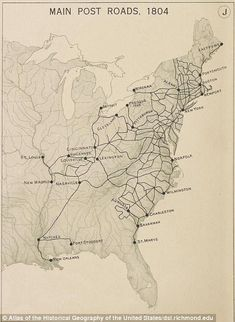 Thirty years time: In 1800 it was impossible to get to Philadelphia from New York and New ...