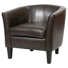 Aiden Bonded Leather Club Chair - Christopher Knight Home : Target