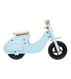 Paperino scooter made of wood- Paperino Roller aus Holz Roller made of wood - Welding Projects, Wood Projects, Wood Yard Art, Wood Art, Wood Bike, Baby Bike, Scooter Bike, Kids Bicycle, Balance Bike