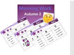 40 sets of arithmetic starters/morning work for year 5 and 6 with answers 4 operations maths Ks2 Maths, Decimal Places, 6 Class, Math Sheets, Christmas Math, Arithmetic, Morning Work, Problem Solving, Starters