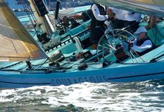 """12 Metre class yacht- Courageous """"Win America's Cup's twice  1974 -1977"""""""