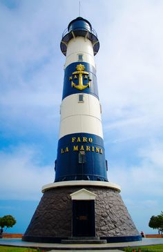 Lighthouse in Miraflores, Lima - Peru