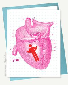 You're in My Heart. Valentines Day.