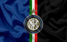 Indir duvar kağıdı Internazionale olan Inter Milan, futbol, İtalya, Serie A amblemi, Futbol Kulübü