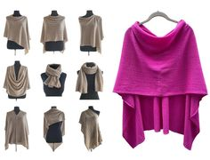Cashmere Poncho, Wool Poncho, Crochet Poncho, Poncho Sweater, Cashmere Sweaters, Jumper, Ways To Wear A Scarf, How To Wear Scarves, Bridesmaid Shawl