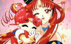 Sailor Moon / Sailor Chibi Chibi Moon and Princess Kakyuu