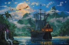 captain hook's ship - Google Search