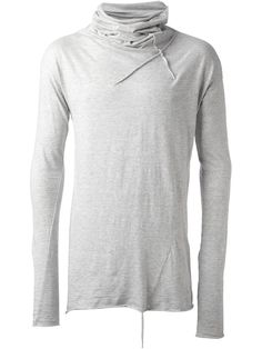 Lost And Found High Neck Top in Gray for Men (grey)