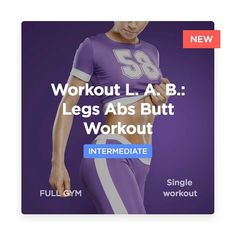 Three new workouts a