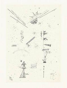 VISION (Wassily Kandinsky (Russian, 1866 - 1944) ...)