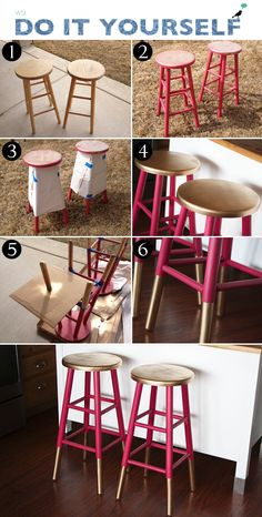 23 Spray Paint Projects That Turn Trash To Treasure 23 proyectos de pintura en aerosol que convierte Spray Paint Projects, Diy Spray Paint, Affordable Home Decor, Cheap Home Decor, Diy Home Decor, Thrifty Decor, Room Decor, Furniture Makeover, Diy Furniture