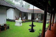 Traditional Kerala lane