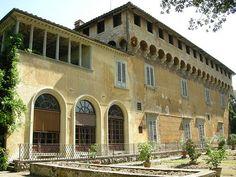 The Villa Medici at Careggi is a patrician villa in the hills near Florence, Tuscany, central Italy.