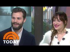Fifty Shades' Jamie Dornan, Dakota Johnson Talk Being Naked On Set | TODAY - YouTube
