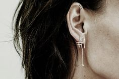 We can't get enough of Dutch designer Merrel Westhoff's collection of delicate, minimalist jewelry, inspired by ancient patterns, symbols and architecture | Honestly WTF