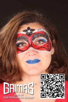 Máscara estrella - www.maquillador.eu, ejemplos de maquillaje