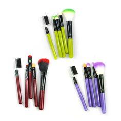 Makeup Brush Set Eyeshadow, Blush Brush Eyebrow 5 Piece Set - $9.99 Free Shipping #weekdaygirlnailboutique #makeupbrushes