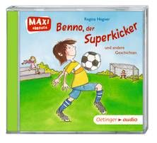 Benno, der Superkicker  und andere Geschichten (CD). Ab 3 Jahren.