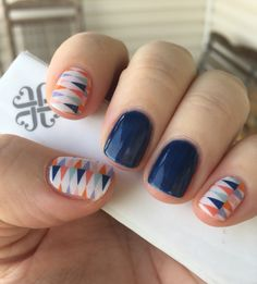 Circus tent with Beta gel. Love it! Love my Jamberry nails!!!