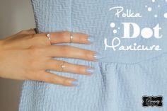 Easy two-step Polka Dot Manicure!