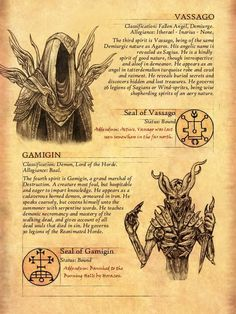 Click this image to show the full-size version. - Click this image to show the full-size version. Dark Creatures, Mythical Creatures Art, Mythological Creatures, Magical Creatures, Fantasy Creatures, Occult Symbols, Magic Symbols, Occult Art, Myths & Monsters