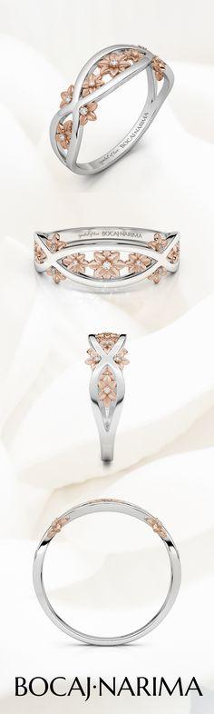 Order Online Flower Ring Band. Original BN Bocaj.Narima | Diamond Flower Ring | Lucky Ring | Choose your flower ring |