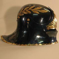 Reprod. German Sallet with visor  f/ Steel Mastery
