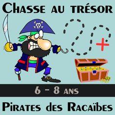 pochette pirate chasse tresor