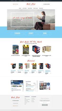 Book Shop OpenCart Template