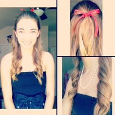 Ariana Grande inspired hairstyle