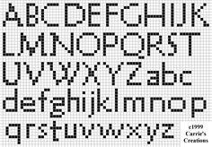Brain Clutter: Cross stitch alphabet #25