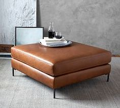 ] Leather Ottoman Coffee Table Square Lovable Brown Leather Ottoman Coffee Table And Jake Leather Sectional Ottoman Pottery Barn Lilangels Furniture Brown Leather Ottoman Coffee Table Lilangels Furniture Brown Sectional, Sectional Ottoman, Leather Sectional Sofas, Upholstered Ottoman, Leather Sofa, Sleeper Sofas, Brown Leather, Leather Ottoman Coffee Table, Ottoman Table
