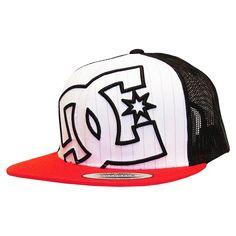 Casquette réglable trucker DC Shoes Daxx black / grey / stripe 25€ #dc #dcshoes #dcshoescousa #cap #hat #caps #hats #casquette #casquette #skate #skateboard #skateshop #trucker #truckercap #flexfit #truckers #truckerhat #daxx
