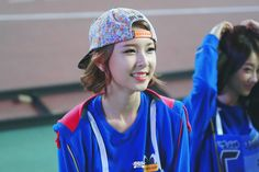 Nine Muses HyeMi @ TV Show '2013 Idol Sports Athletics'