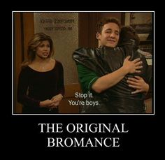 LOL i've always thought that the bromance thing is kinda....interesting..... no comment.