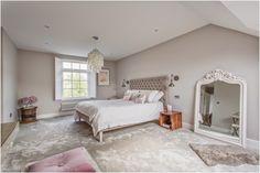 Little Miss Homes - Bedroom Complete. London Bedroom, Loft Bedroom, Loft Extension, London Property,  Farrow & Ball, Cornforth White.