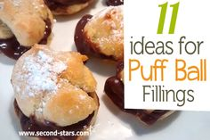 If you liked our Puff Balls check out this recipe for 11 ideas for what to put inside them, some sweet, some savory, all delicious!  >>>> http://second-stars.com/11-ideas-for-puffball-fillings/