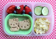 We can't deny it, summer is coming to an end and the kids need portable food. Back-to-school is a huge adjustment for everyone involved and healthy fuel helps your little chefs get through the day. If you have ever seen what most school lunches c Toddler Lunch Box, Healthy Toddler Lunches, Toddler Meals, Healthy Kids, Healthy Recipes, Easy Lunch Boxes, Lunch Ideas, Box Lunches, Bento Ideas
