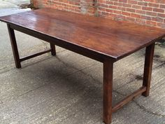 Antique French Farm Table W/ Drawers | Kitchens  European | Pinterest | Antique  Farm Table, Farming And Drawers