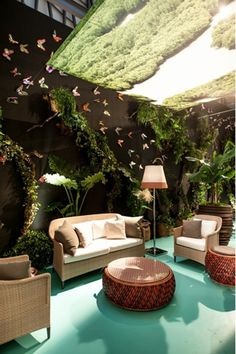 stand dedon / summerland sofa and lounge chairs designed for dedon by richard frinier