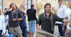 Celebrities & their stunt doubles, side-by-side
