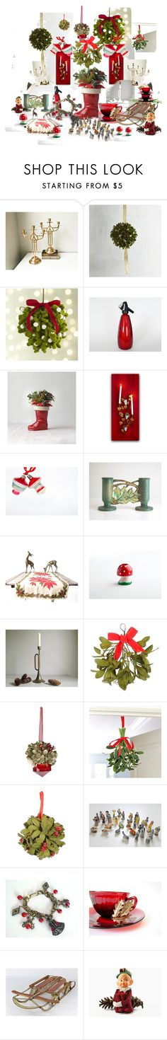 """""""Under the Mistletoe..."""" by vintagefrenchlinens ❤ liked on Polyvore featuring interior, interiors, interior design, home, home decor, interior decorating, Pier 1 Imports, Crate and Barrel, Ballard Designs and vintage"""