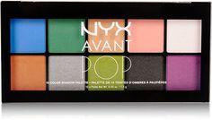$17 NYX Avant Pop Art Throb Eye Shadow Palette