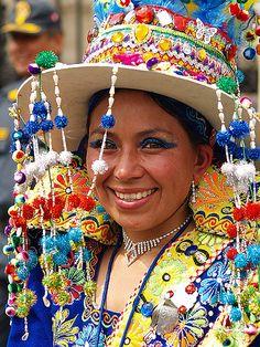 Virgen de la Candelaria Festival, Puno, Perú.