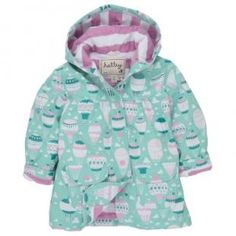 Hatley Hot Air Balloons Girls  Raincoat Trendy Baby Clothes 4eae04184d0a