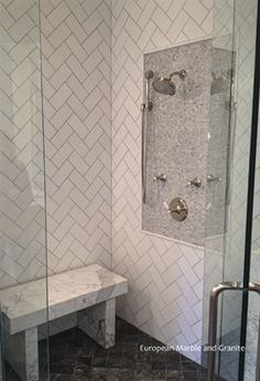 Freestanding Shower Bench Design Ideas, Pictures, Remodel and Decor