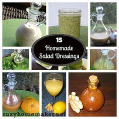 15 homemade salad dressings!